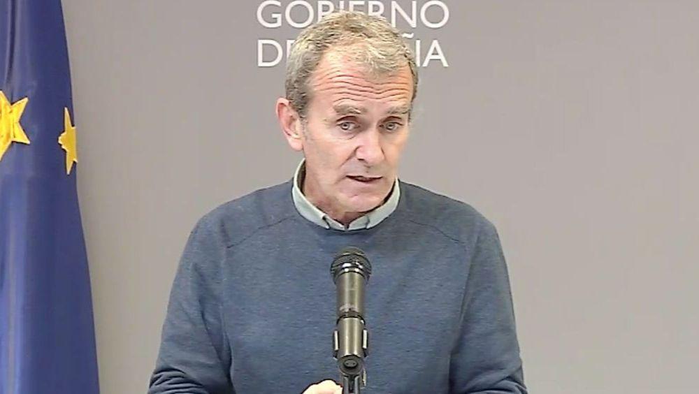 Fernando Simón, director del CCAES (Foto: M. Sanidad)