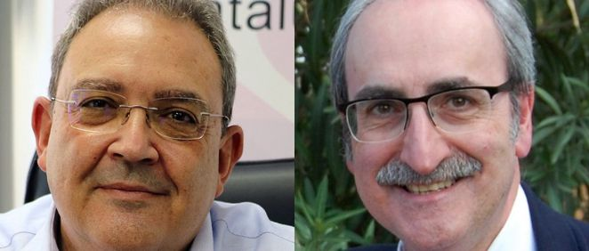 Xavier Lleonart de Metges de Catalunya e Ignacio Forcada de Simecat. (Fotomontaje ConSalud.es)