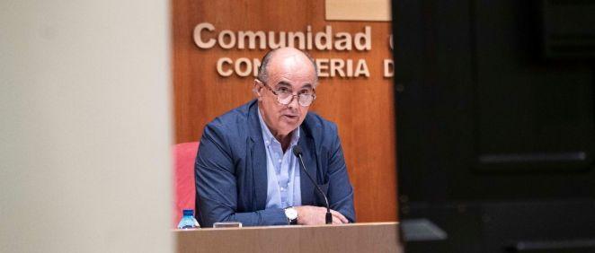 Antonio Zapatero, viceconsejero de Salud Pública y Plan Covid 19 de la Comunidad de Madrid (Foto Comunidad de Madrid)