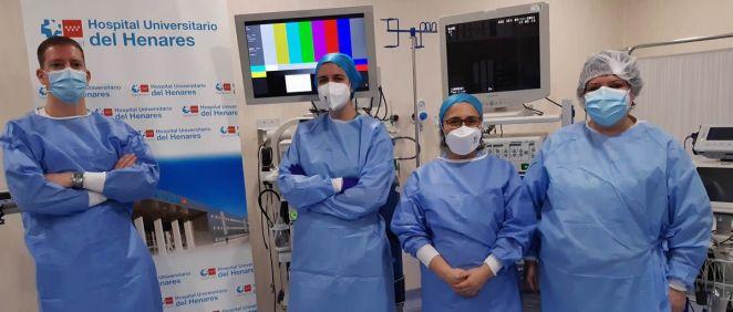 Profesionales de Hospital del Henares (Foto. ConSalud)