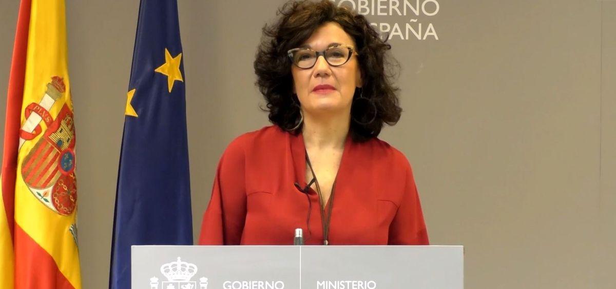 Julia del Amo, directora del Plan Nacional sobre el Sida (Foto. Ministerio de Sanidad)