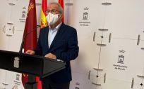 El concejal Felipe Coello (Foto. AYUNTAMIENTO DE MURCIA)