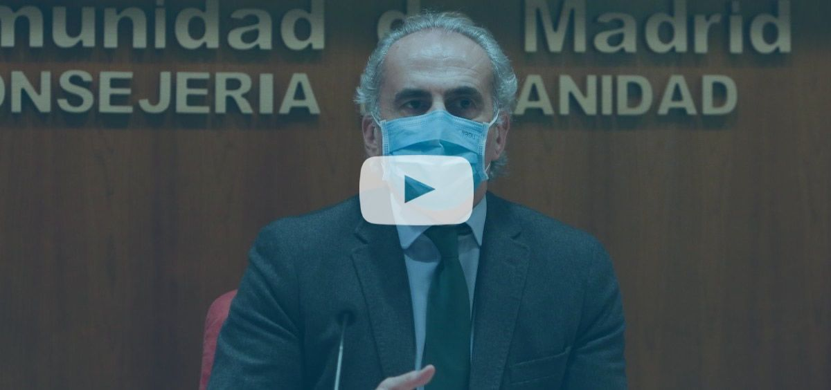 El consejero de Sanidad, Enrique Ruiz Escudero. (Foto. EUROPA PRESS R.Rubio.POOL)