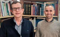 Jordi Salas‐Salvadó y Andrés Díaz López (Foto. Ciber)