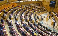Pleno del Senado (Foto: @Senadoesp)