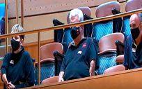 Miembros de Avite en el Senado (Foto. Avite)
