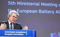 El comisario europeo de Mercado Interior, Thierry Breton (Foto. Claudio Centonze/European Commis / DPA / EP)
