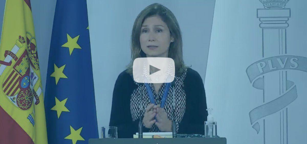 María Jesús Lamas, directora de la AEMPS.
