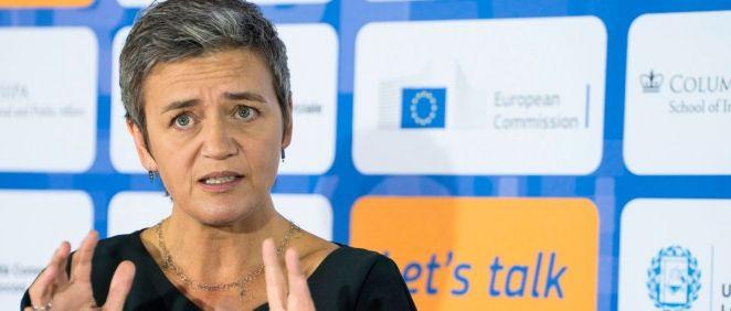Margrethe Vestager,  vicepresidenta del Área de Investigación Europea Digital de la Comisión (Foto: UE)