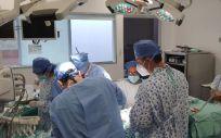 Intervención Trasplante Cardiaco (Foto. Quirónsalud)