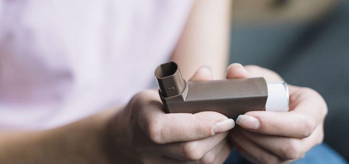 Persona con asma. (Foto. Freepik)