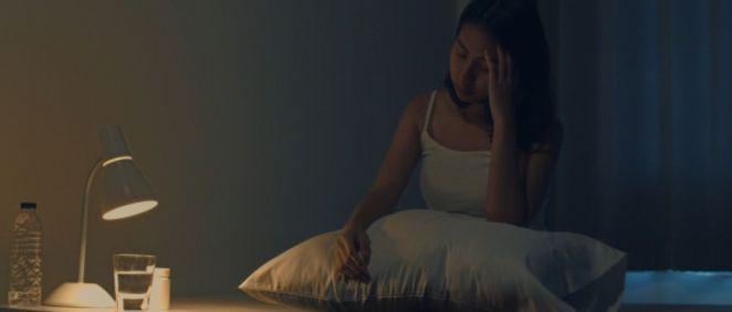 Mujer con insomnio (Foto. Freepik)