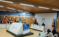 Celebración del Consejo Interterritorial del Sistema Nacional de Salud (Foto. Pool Moncloa Borja Puig de la Bellacasa)