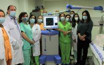 Nuevo equipo del Hospital de Fuenlabrada (Foto. ConSalud)
