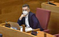 El diputado en Les Corts, Manuel Pineda (Foto. PSOE PSPV)