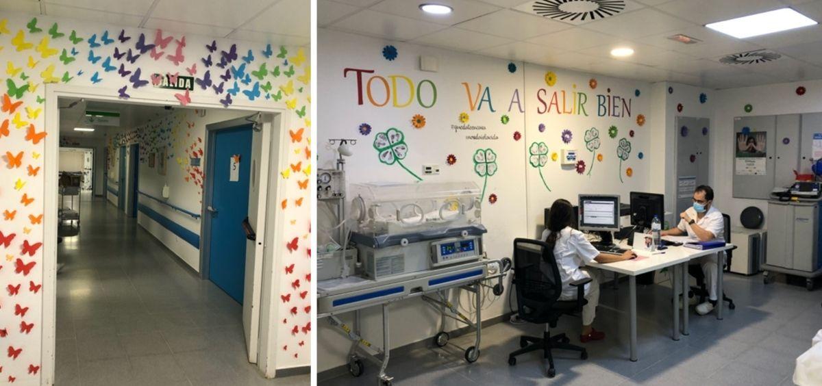 """El Servicio de Obstetricia creó un """"bunker paritorio"""" en las primeras semanas de pandemia que permitió a las gestantes dar a luz en un espacio protegido (Foto. Hospital Infanta Elena)"""