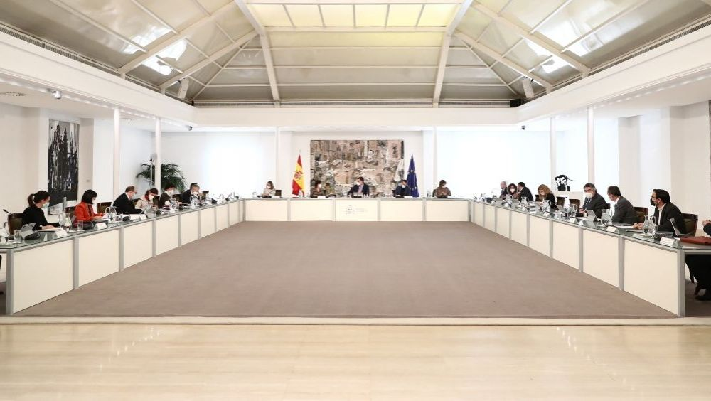 Reunión del Consejo de Ministros (Foto: Pool Moncloa / Fernando Calvo)