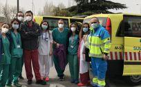 Madrid agradece el esfuerzo de los sanitarios para mantener la actividad de trasplantes