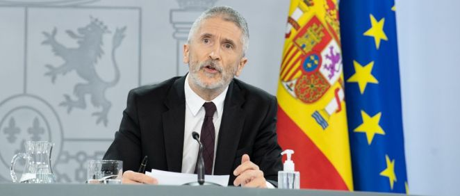 Fernando Grande Marlaska, ministro del Interior (Foto: Pool Moncloa / Borja Puig de la Bellacasa)