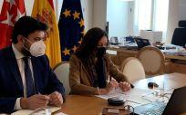 Consejera de Presidencia, Eugenia Carballedo)Foto. COMUNIDAD DE MADRID)