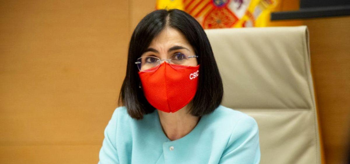 Carolina Darias, ministra de Sanidad (Foto: Congreso)