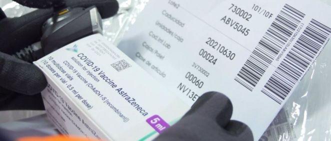 Vacuna de AstraZeneca (Foto. GVA)