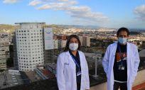 Profesionales del Hospital Universitario Vall d'Hebron (Foto. ConSalud)