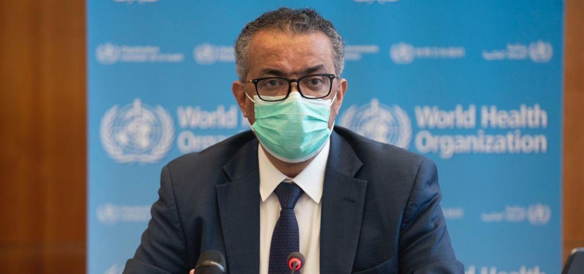 El director general de la Organización Mundial de la Salud (OMS), Tedros Adhanom (Foto. OMS)