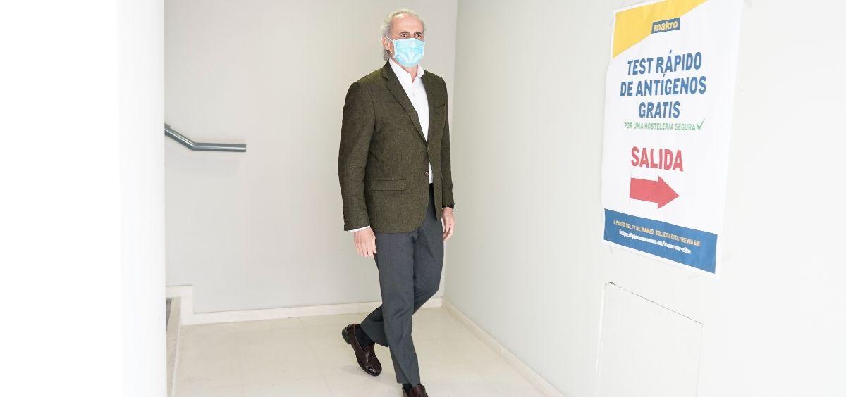 El consejero de Sanidad, Enrique Ruiz Escudero (Foto. CAM)