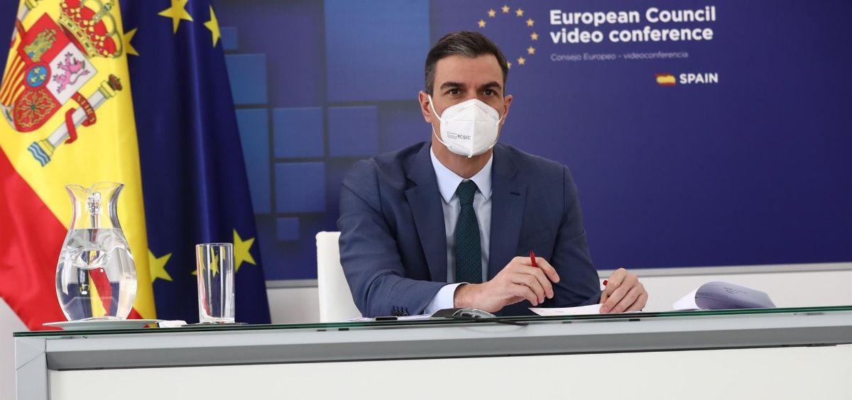 El presidente del Gobierno, Pedro Sánchez (Foto. MONCLOA)