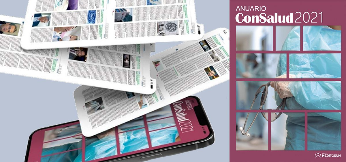 Anuario ConSalud.es 2021 (Foto. ConSalud.es)