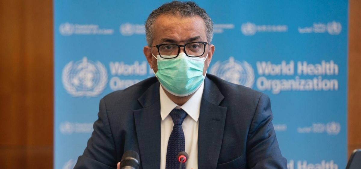 El director general de la Organización Mundial de la Salud (OMS), Tedros Adhanom Ghebreyesus (Foto. OMS)