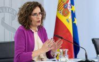 María Jesús Montero, portavoz del Gobierno (Foto: Pool Moncloa / Diego del Monte)