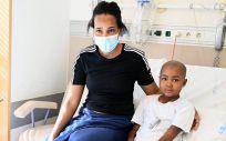 Binta, paciente del Hospital Gregorio Marañón (Foto. Gregorio Marañón)