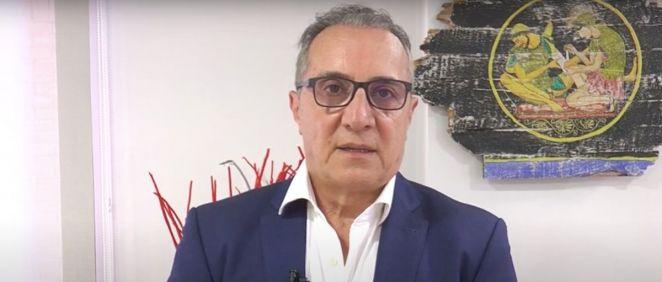 Juan José Tirado, presidente del Consejo de Enfermería de la Comunidad Valenciana (Foto: Cecova)