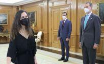 Ione Belarra, promete su cargo como ministra de Derechos Sociales y Agenda 2030 (Foto: Casa Real)