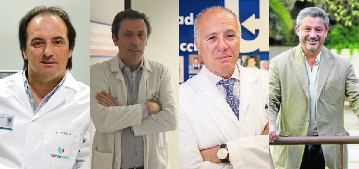 Presidentes de Asebir, Aseica, la Sociedad Española de Fertilidad y el Consejo de Colegios Oficiales de Biólogos