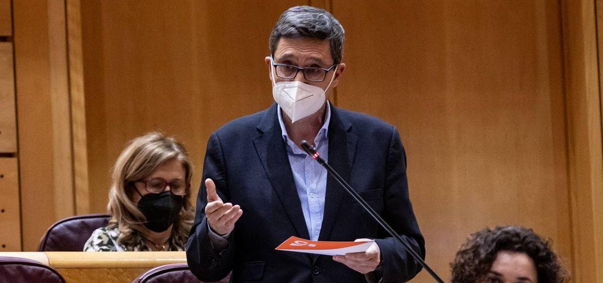 El portavoz de Cs en la Comisión de Políticas Integrales para la Discapacidad del Senado, Tomás Marcos (Foto. Ciudadanos)