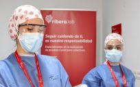 Profesionales de Ribera (Foto. ConSalud)