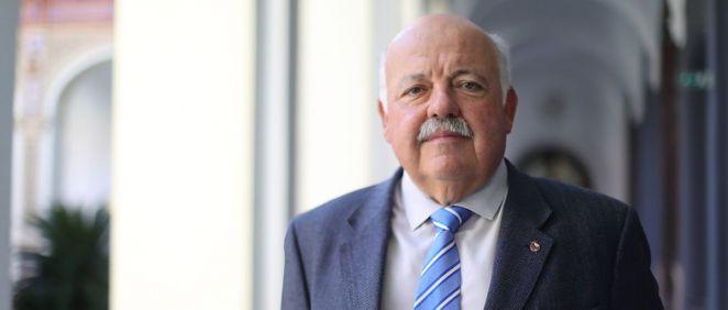 El consejero de Salud y Familias, Jesús Aguiire (Foto. Junta de Andalucía)