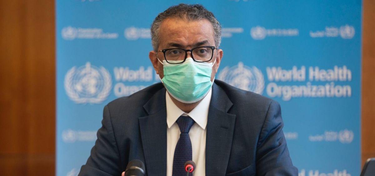 El director general de la Organización Mundial de la Salud (OMS), Tedros Adhanom Ghebreyesus (Foto. Archivo EP   OMS)