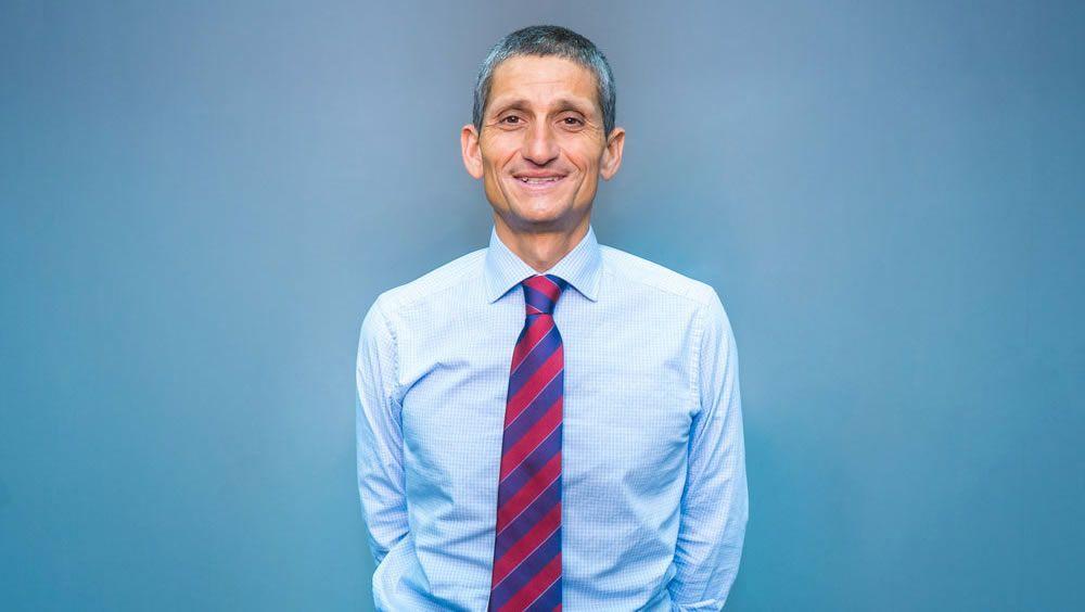Pedro Miguel Rodríguez, gerente del Hospital Universitario de Gran Canaria Doctor Negrín (Foto. Colegio de Médicos de Las Palmas)