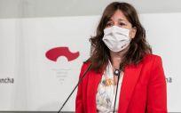 La consejera de Igualdad y portavoz del Gobierno regional, Blanca Fernández (Foto. JCCM)
