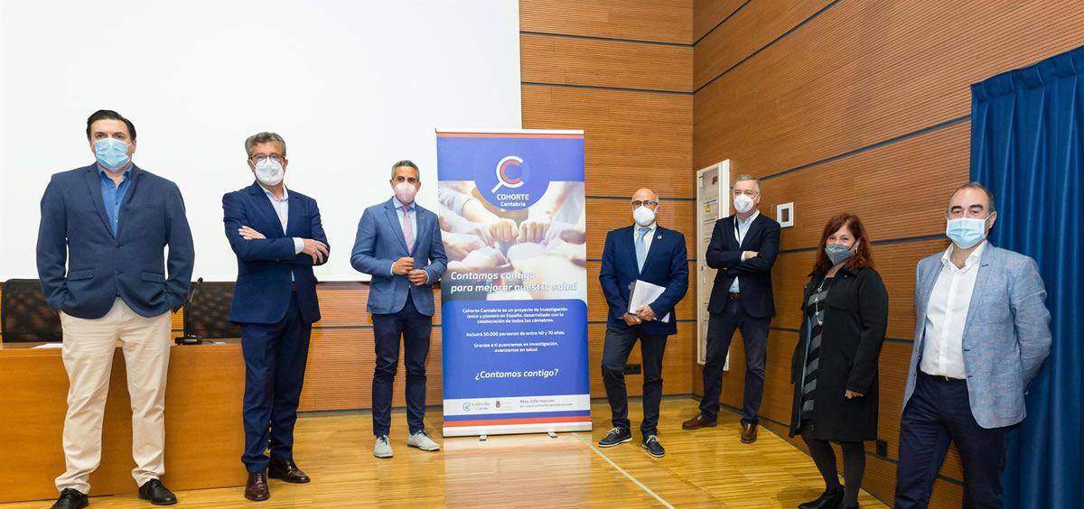 "Presentación del proyecto de investigación biomédica ""Cohorte Cantabria"". (Foto. Europa Press)"