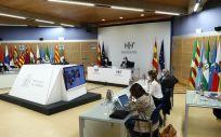 Reunión del Consejo Interterritorial de Salud. (Foto. Pool Moncloa. Fernando Calvo)