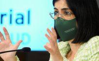 La ministra de Sanidad, Carolina Darias (Foto. Photogenic Claudia Alba   Europa Press)