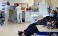 Paciente en la unidad del Vall d´Hebrón (Foto: Hospital del Vall d´Hebron)