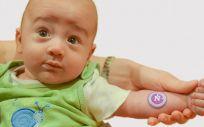 Un bebe modela el sistema (Foto. Universidad Northwestern)
