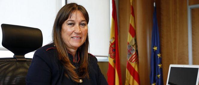 Sira Repollés, consejera de Sanidad (Foto. Gobierno de Aragón)