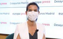 Rocío Monasterio, candidata de Vox a la presidencia de la Comunidad de Madrid (Foto: Marta Fernández Jara / Europa Press)
